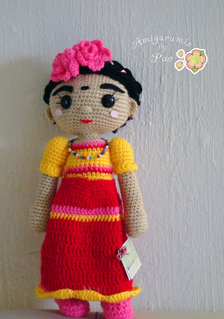 117 best images about frida kahlo amigurumi on pinterest. Black Bedroom Furniture Sets. Home Design Ideas