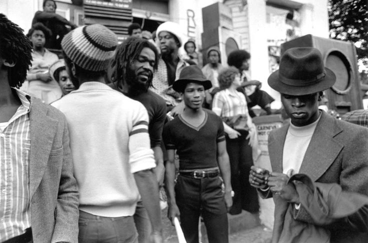 ©Peter Marlow 1977 GB. London. The Notting Hill Carnival in west London.