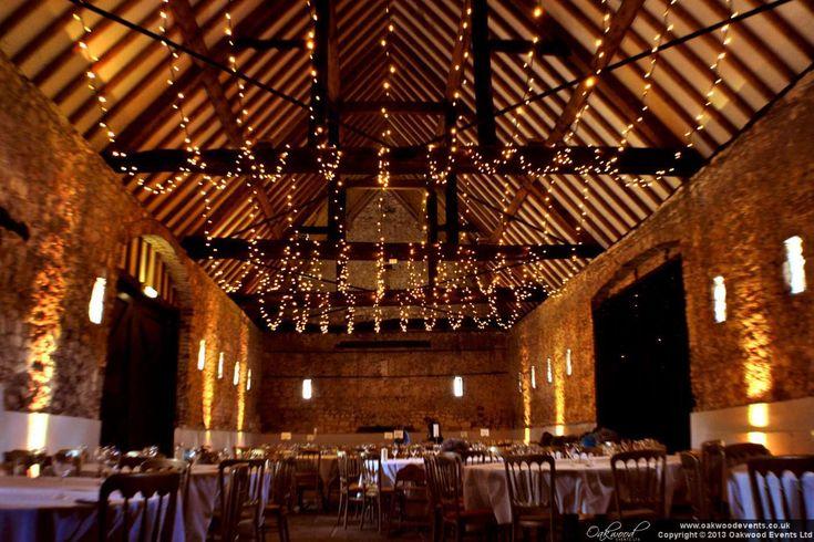 fairy lights oakwood and wedding lighting on pinterest barn wedding lights