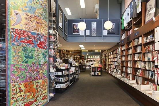 reading bookshop fitout