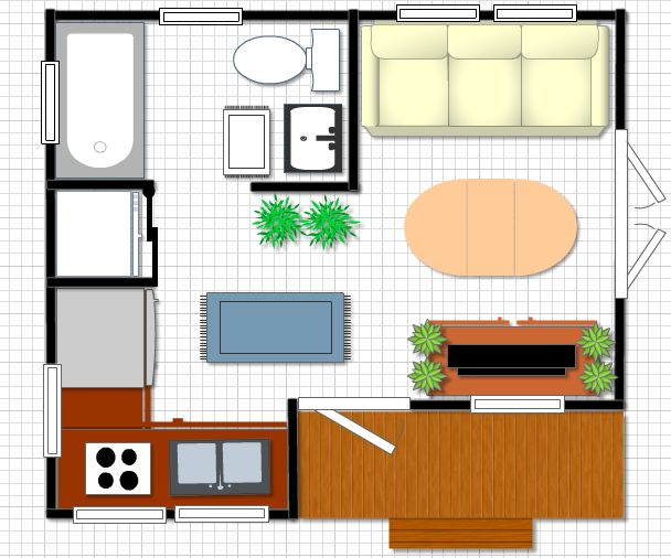images about Compact Spaces on Pinterest Living in