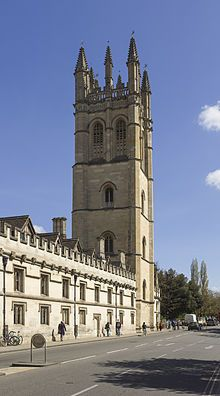 On this day 12th June, 1458 Magdalen College, Oxford was founded by William of Waynflete, Bishop of Winchester