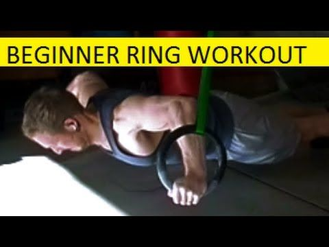 A beginner's workout on the gymnastics rings. 12 exercisies for a complete upper body workout. This is intended for individuals who are just starting to exer...