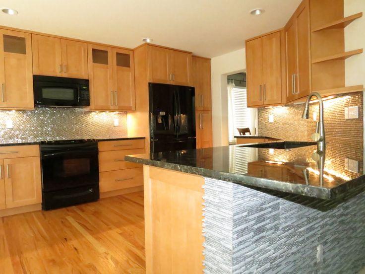 Kitchen Ideas Maple Cabinets 184 best nanci's kitchens images on pinterest | white appliances