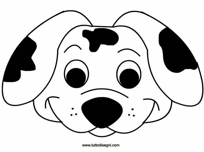 зональная картинка маска собаки распечатать касается только внешнего