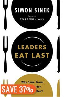 Leaders Eat Last: Why Some Teams Pull Together And Others Don't Simon Sinek's last book, Start with Why, had such a profound impact on me.  Can't wait to read his new one, which I'm sure will be even more insightful and life-changing!  www.synergyfamilywellnesscentre.com
