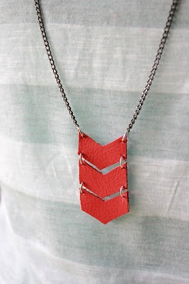 Beyond the Curtain: Leather Necklaces