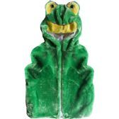 12 units of Kids Cute Frog Animal Vest With Frog Hat