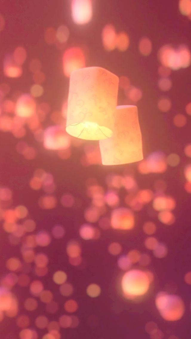 Flynn and Rapunzel's lanterns <3