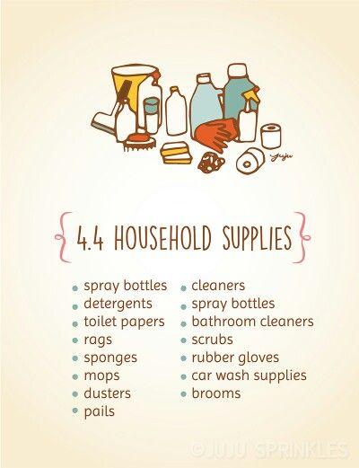 Komari - 4.4 Household Supplies