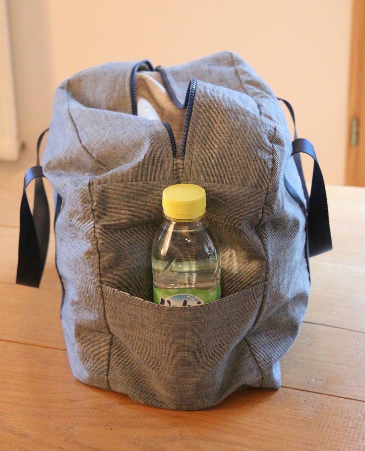 17 meilleures id es propos de sac de sport sur pinterest - Tuto sac de sport ...
