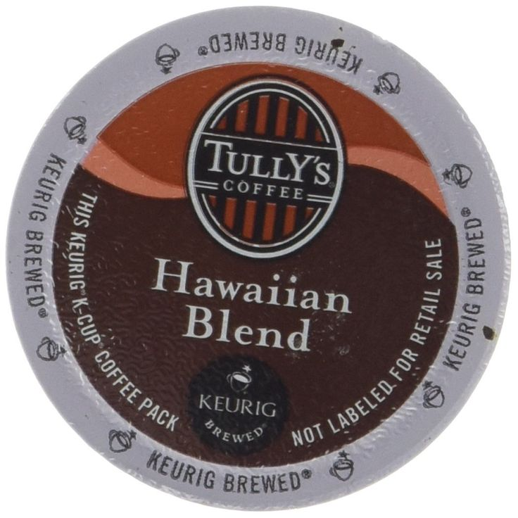Tully's Hawaiian Blend Extra Bold Coffee Keurig K-Cups, 24 Count => Check out this great image  : K Cups