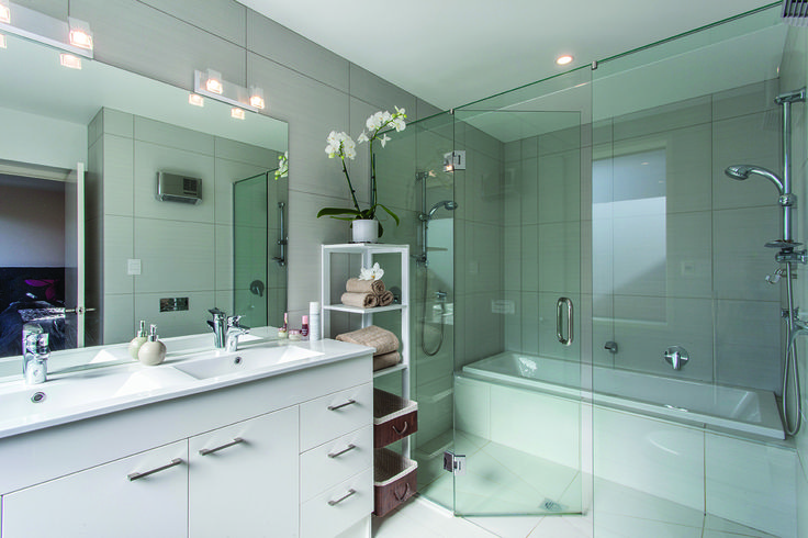 Stunning great bathroom - designed by Will Lewis from Lewis Architecture #bathroom #ADNZ #architecture