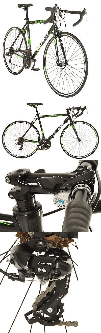 bicycles: Vilano R2 Commuter Aluminum Road Bike Shimano 21 Speed 700C -> BUY IT NOW ONLY: $209.0 on eBay!