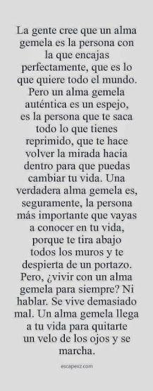 #AlmasGemelas