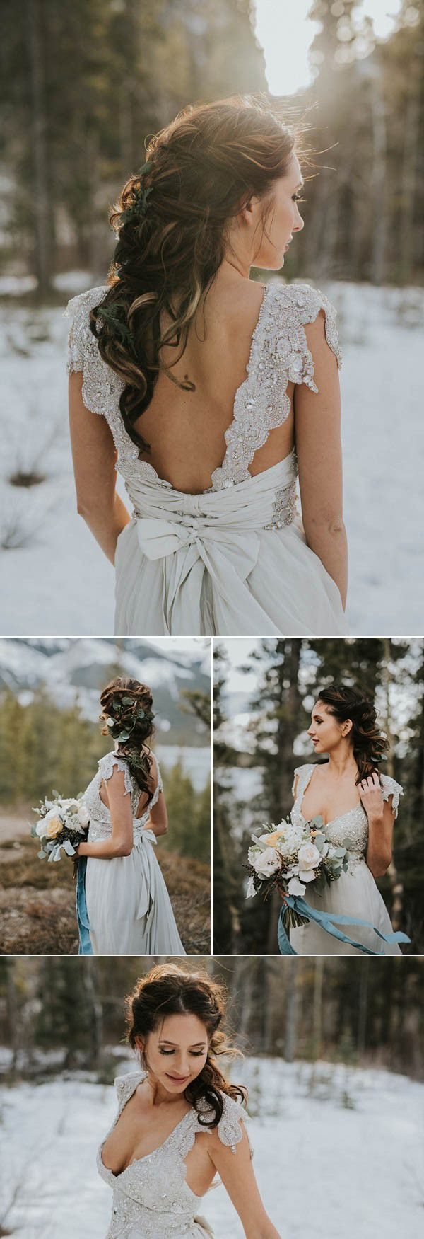 Voluminous messy bridal braid | Image by Darren Roberts Photography