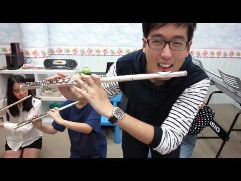 FLUTE:  Happy- Pharrell Williams cover | Vanilla flute ensemble - YouTube