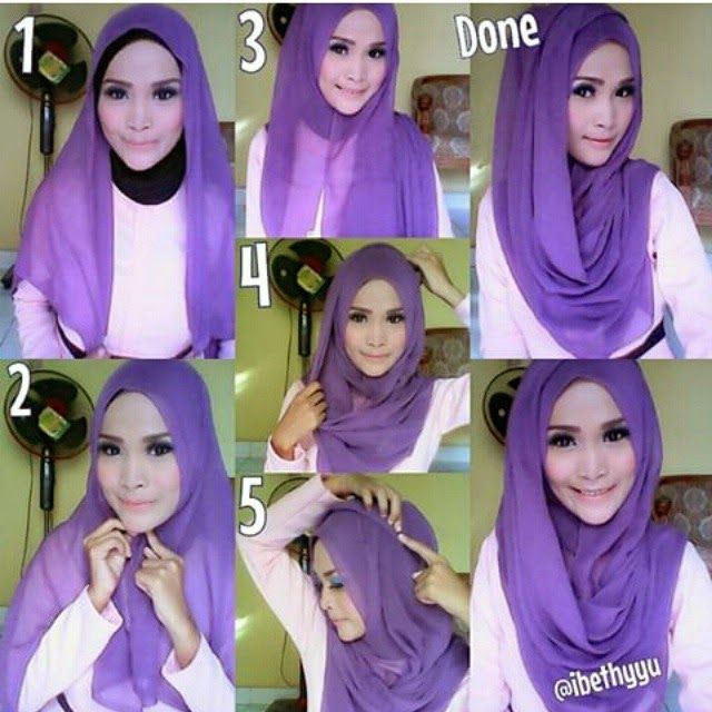 Beautiful girly hijab tutorial to wear daily with any classy or casual outfit, I love the layered look and the chest coverage, you can create as much folds as you want, it's up to how large your hijab is. To…