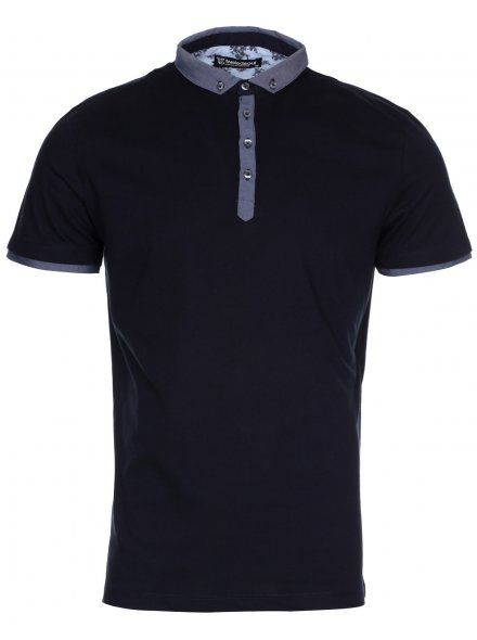 Navy Smart Short Sleeve Polo Shirt