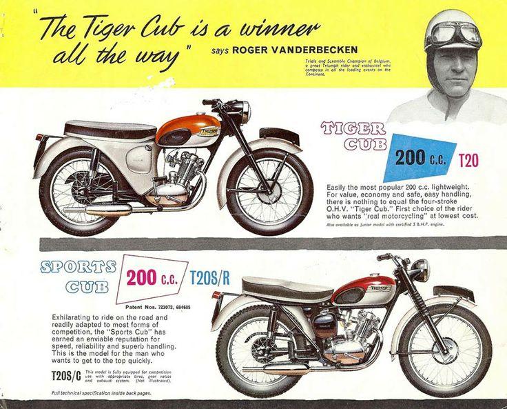 1962 Triumph Brochure