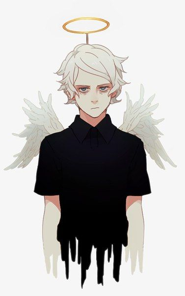 #ангел #арт #парень