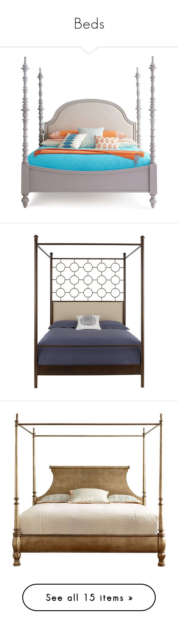 beds by caymansunshine liked on polyvore featuring home furniture beds queen canopy
