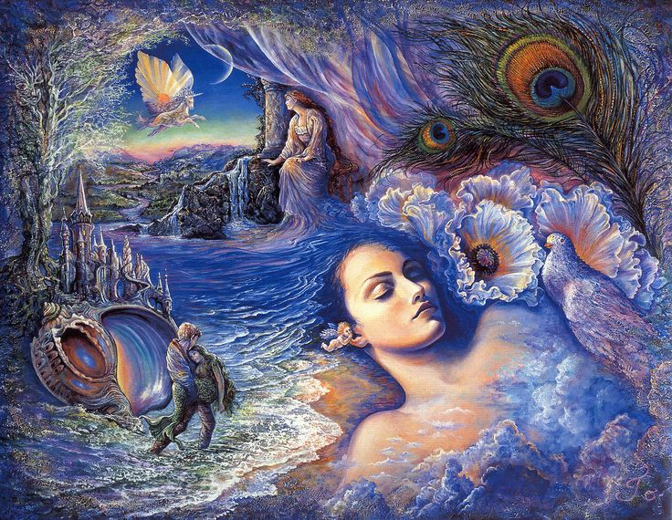 Josephine Wall Art the 95 best images about art / josephine walls on pinterest