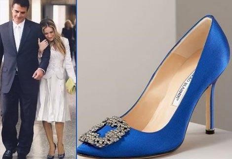 Свадебные туфли от маноло бланик