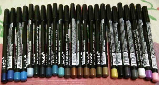 Brainy Beauty Talk: Nabi 24 pieces Eyeliner (Imported) by Chennai Focus