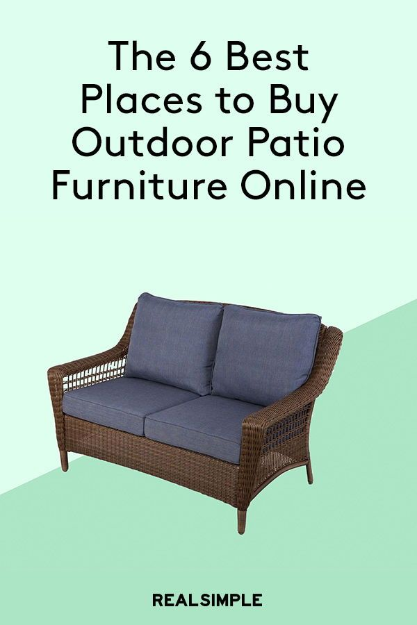 The 6 Best Places To Buy Outdoor Patio Furniture Online Patio