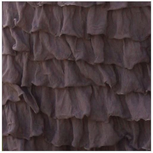 Ruffle Curtain Panel, Taupe Brown 96 Inches Long by 44 Inches Wide ...