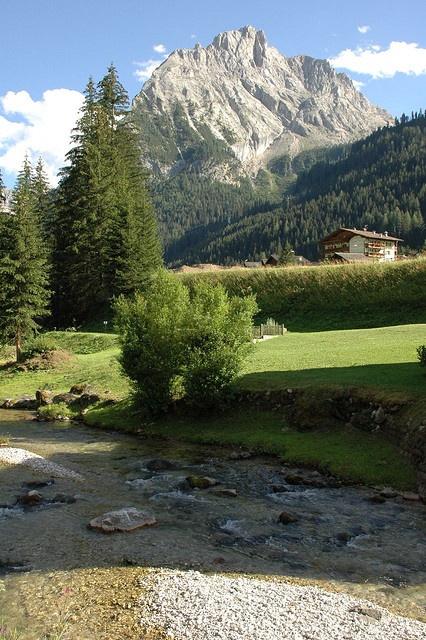 Marmolada Gran Vernel da Alba Di Canazei. Val de Fassa, ITALY.