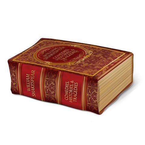 """Пуф """"Книга"""" (принт) Пуфик """"Книга"""" – для тех, кто любит чтение, хорошее настроение и яркие, необычные предметы интерьера! Оформленное в виде книги, оно украсит собой любой дом или офис! Благодаря оригинальному дизайну пуфик прекрасно подойдёт к любому интерьеру, а использование прочного и долговечного материала предохранит его от деформации, истирания и выцветания ткани."""