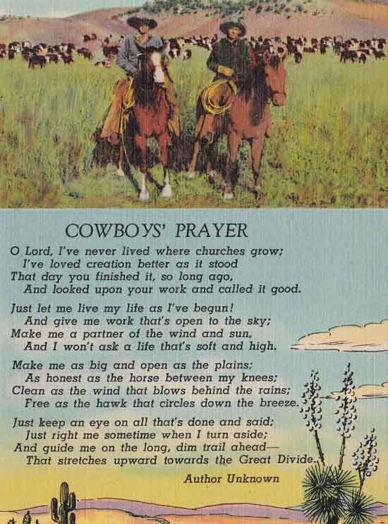 Best 25 Cowboy Prayer Ideas On Pinterest Country Boys