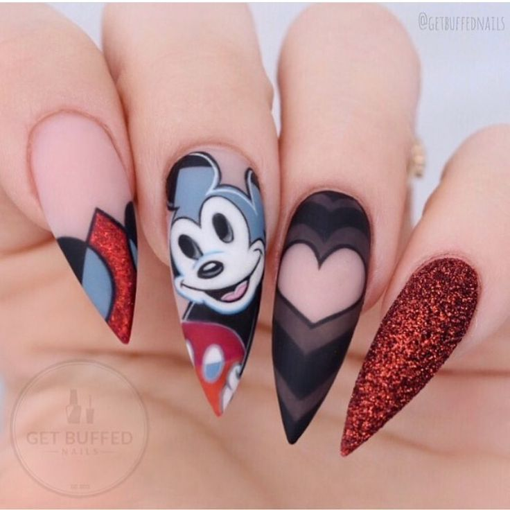 914 best Nerd Nail Designs images on Pinterest | African hairstyles ...