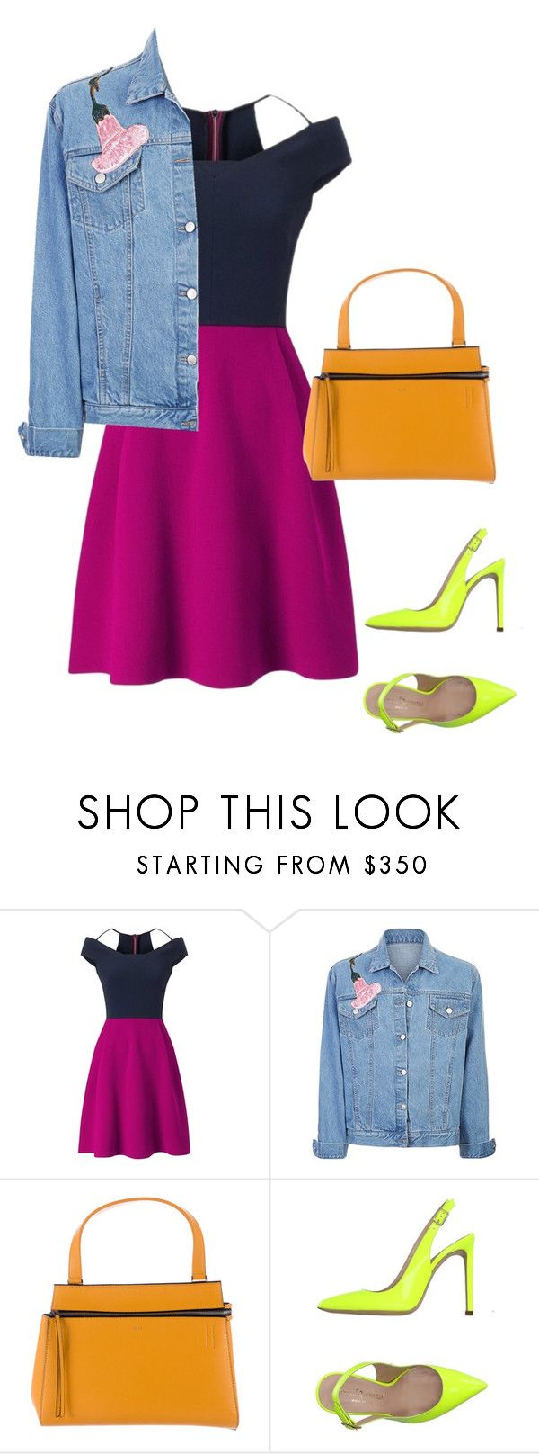 """""""6"""" by asvetik on Polyvore featuring мода, Roland Mouret, CÉLINE и Marco Barbabella"""