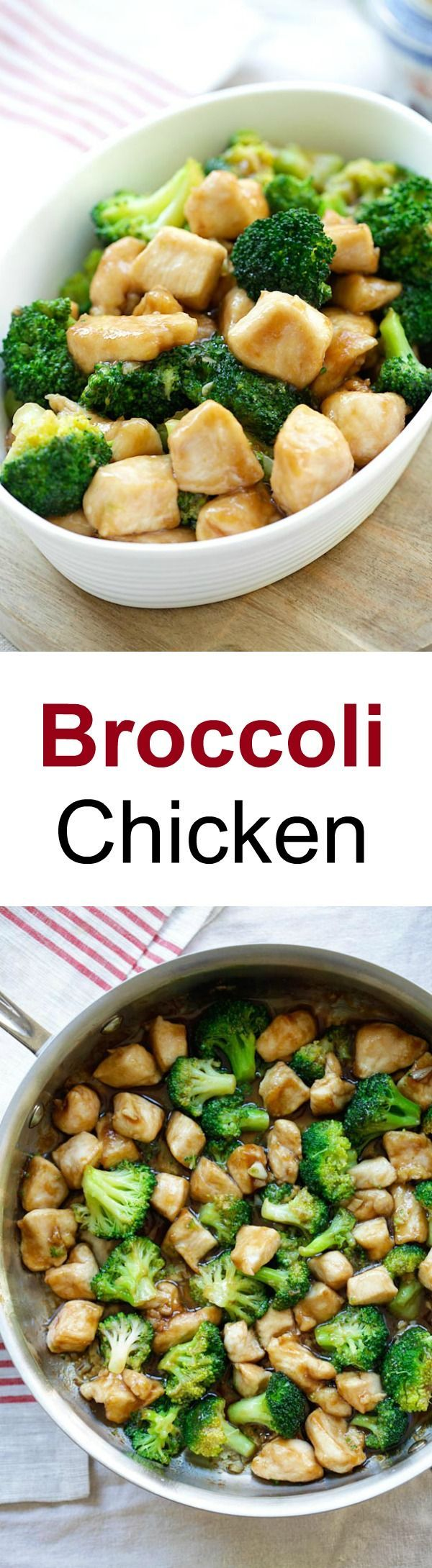 Broccoli Chicken – Learn how to make healthy homemade chicken stir-fry with broccoli in brown sauce. Best Chinese takeout recipe