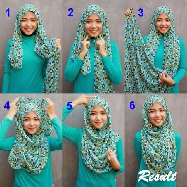 HIJAB FASHION INSPIRATION : Perfect Chest Coverage Hijab Tutorial