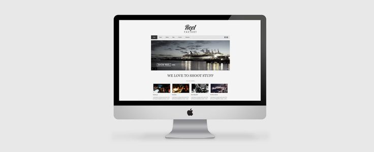 Web Design for Reel factory. View the full project at www.ruffhausdesign.co.nz