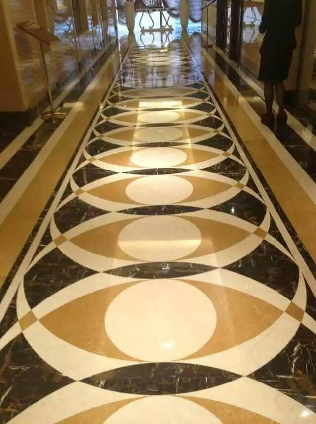 Marble Medallion Flooring In Hotel Foyer Part 58