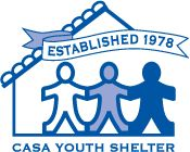 Casa Youth Shelter provides temporary shelter for runaways and youth in crisis, enabling them to come through the crisis with an increased personal strength and a sense of renewal while in a supportive environment, with family reunification as a primary goal.