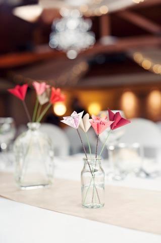 fleurs en origami: Table Decoration, Deco Tables, Wedding, Wedding Table, Photo, Planners Ideas