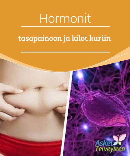 Hormonit tasapainoon ja kilot kuriin   #Hormonitoiminnan ja painon välillä on selkeä yhteys. Tietyt hormonit vaikuttavat #rasvakudoksen syntymiseen ja #kertymiseen.  #Terveelliseelämäntavat