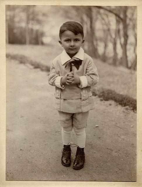 +~+~ Vintage Photograph ~+~+    Cutie boy 1928