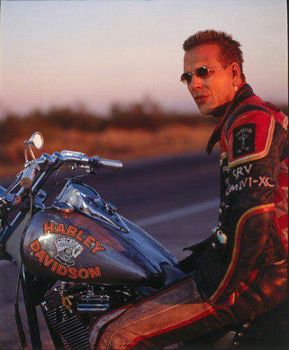 "Mickey Rourke ""Harley Davidson & the Marlboro man"""