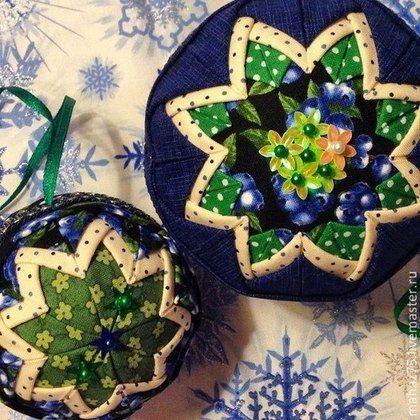 Новогодние шары - 10 см - тёмно-синий,черника,новогодние шары,шар на елку