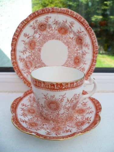 Antique Foley Wileman China Trio Tea Cup Saucer Plate & 75+ best Tea Cups OLD FOLEY images on Pinterest | Tea cup Tea cups ...