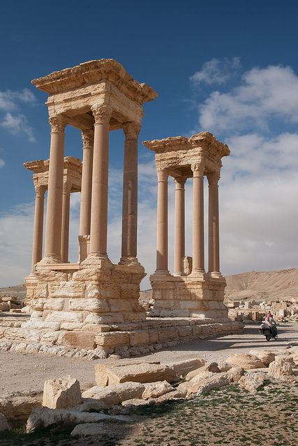 Columns, Palmyra Syria