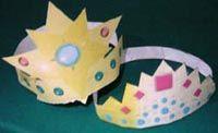Corone da Principessa fai da te - Filastrocche.it