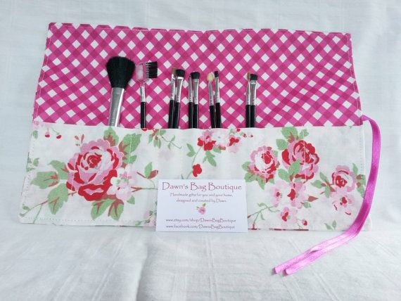 Check out this item in my Etsy shop https://www.etsy.com/uk/listing/251070133/make-up-brush-roll-makeup-brush-roll